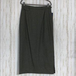 VTG NWT Size 14 Ralph Lauren Wool Cashmere Skirt